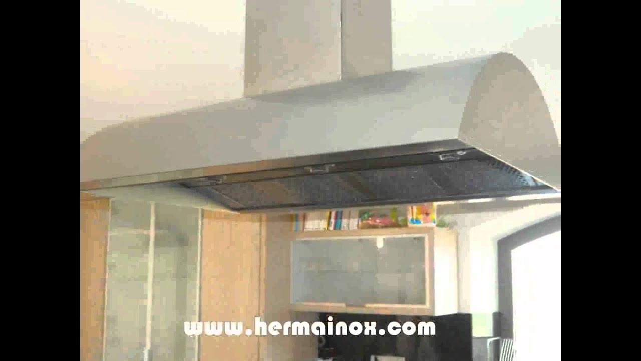 Campanas extractoras hogar profesional youtube for Cocina industrial hogar