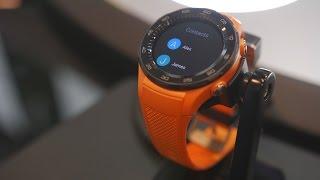 Huawei Watch 2 / 2 4G — первый взгляд