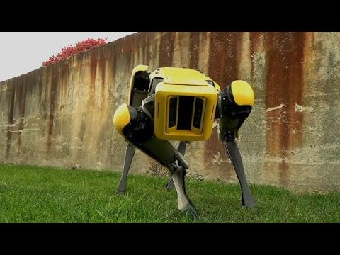 Download Youtube: Boston Dynamics teases updated robot dog, SpotMini