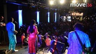"""Bassekou Kouyate & seiner Band Ngoni ba """"Ba Power"""" im Kreuz"""