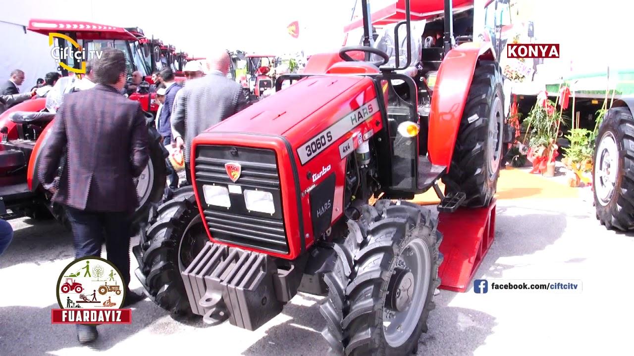 hars traktor konya tarim fuari 2018 ciftci tv