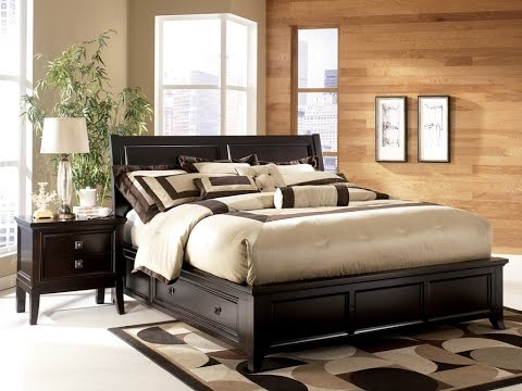 King Platform Bed With Storage Youtube