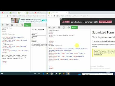 html forms Telugu tutorial in html and css thumbnail