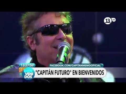 Capitan Memo - Programa ''Bienvenidos'' - CANAL 13 HD