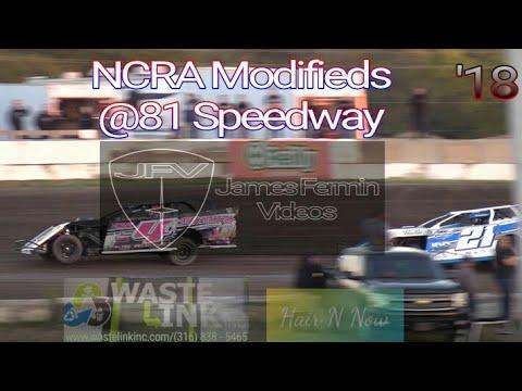 NCRA Modifieds #59, Heats 1-3, 81 Speedway, 10/20/18