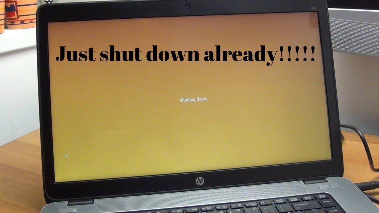 How to fix Windows 10 slow shut down