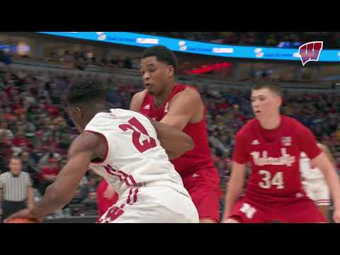 Wisconsin Badgers - Wisconsin wins Big Ten Tournament quarterfinal over Nebraska 66-62