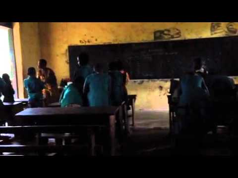 Observing a classroom in Jasikan