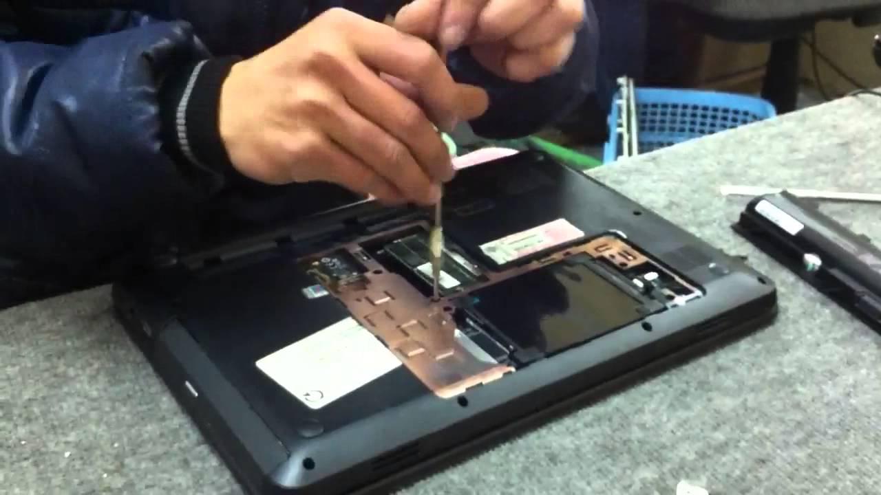 Hướng dẫn tháo lắp thay thế bàn phím laptop HP Pavilion G4