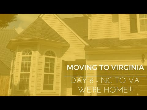 Moving Across the Country - Day 6 - Asheville, NC to Virginia Beach, VA