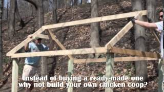 Building A Chicken Coop Review To Know How To Build Your Own Chicken Coop Easily And Economically.