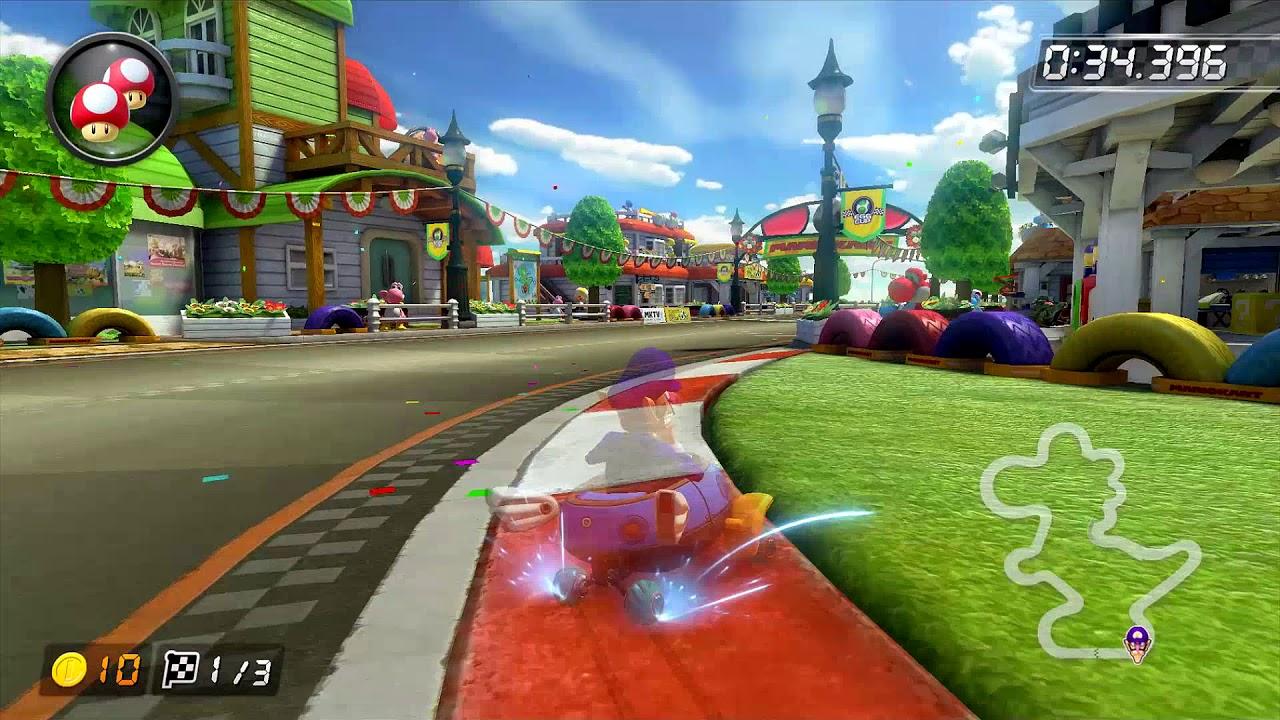 Gcn Yoshi Circuit 150cc 1 43 587 Mario Kart 8