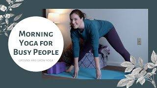 Quick Morning Yoga for Busy People