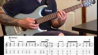 How to play - Frogville by Cory Wong - Guitar lesson with tabs