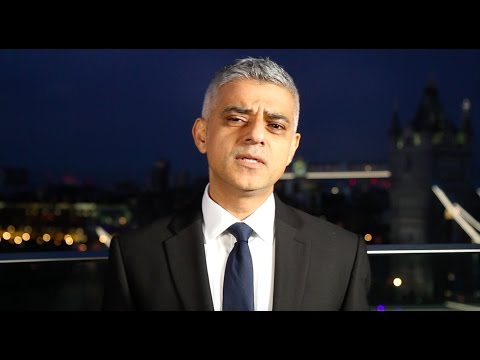 Statement from the Mayor of London, Sadiq Khan