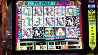Cleopatra II Slot Bonus Game + Re-trigger