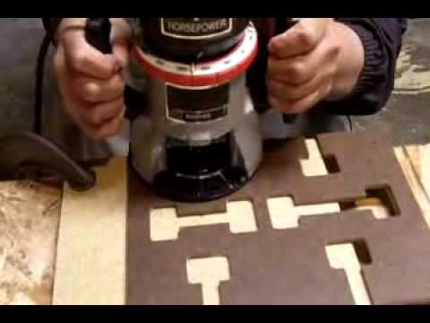 Countertop Miter Bolts : How to Make Mortise Slots in Counter Top for Miter Bolts - YouTube