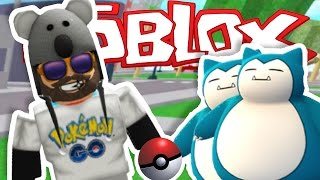 I CAUGHT TWO SNORLAXES!!!! | Pokémon GO [#3] | ROBLOX