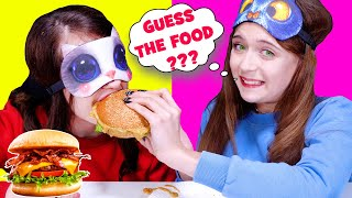 ASMR Guess the Food Challenge By LiLiBu