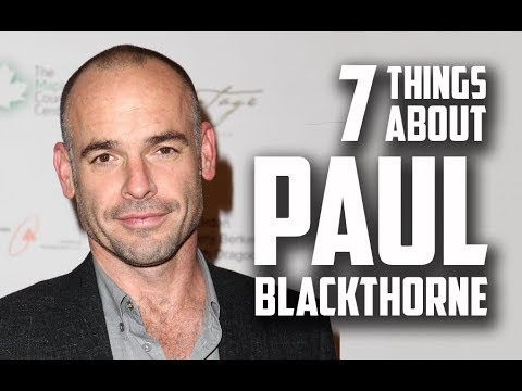 7 Things You May Not Know About Paul Blackthorne Quentin Lance actor in Arrow