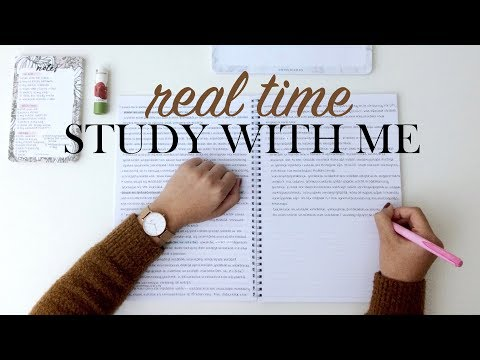REAL TIME STUDY WITH ME - Study Buddies