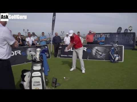 Stephen Gallacher Golf Swing Lesson