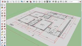 SketchUp 2015 Tira-Dúvidas 01: Como ajustar a escala de imagens no SketchUp?