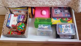 Порядок в детской: игрушки и игры