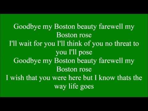 Boston Rose with lyrics