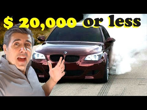 5 Luxury Cars With 500 Hp Under 20k Youtube