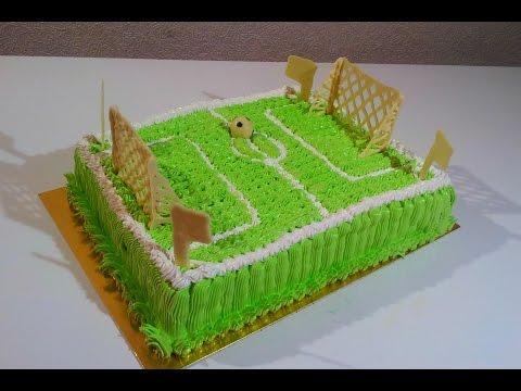 Торт Футбольное поле Как сделать торт футбольное поле Детские торты  Cake football field