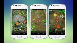 Koi Pond 3D Live Wallpaper screenshot 5
