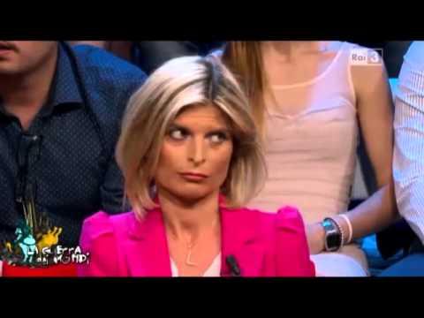 Laura Ravetto furibonda querela aldo Busi in diretta.