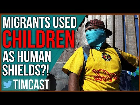 DHS Claims Migrants Used Women and Children As Human Shields