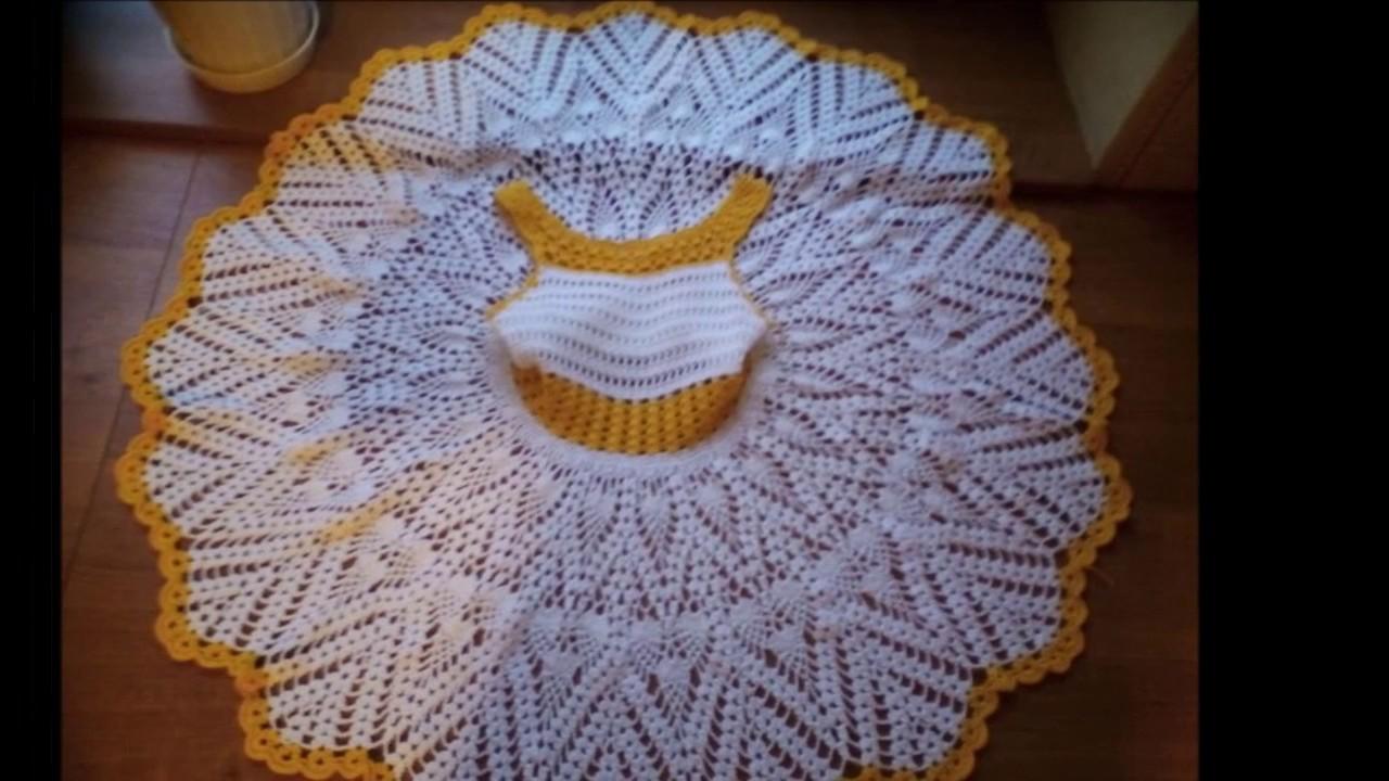 Vestidos Para Niña De 2 A 3 Años Tejidos En Crochet