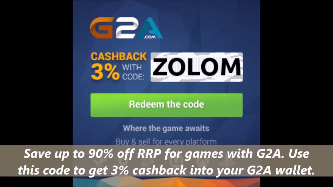 G2a coupon codes april 2018