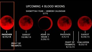 Blood Moons Last Days Sign in 2015. US Senator Nevada 2016 David Lory VanDerBeek