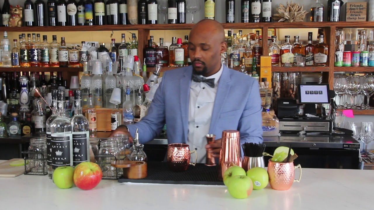 Connecting with Purpose 2020 - Virtual Mixologist DaMarko Wheeler makes the Hope and Healing Cider
