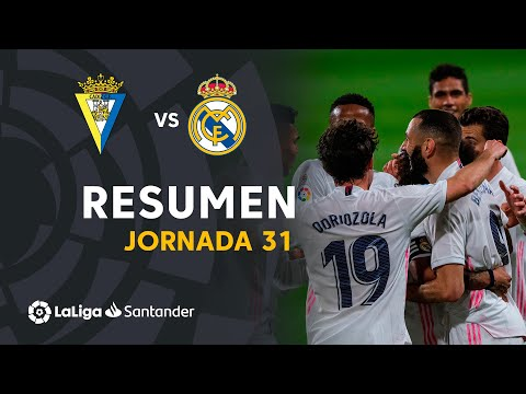 Cadiz Real Madrid Goals And Highlights