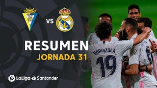 Highlights Cádiz CF vs Real Madrid (0-3)