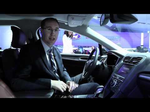 2013 Ford Fusion - 2012 Detroit Auto Show