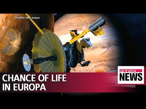 Europa's plumes make Jupiter moon a prime candidate for life