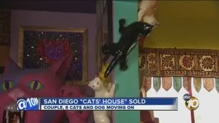 San Diego 'Cats' House' sold