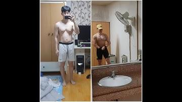 1달간 단백질 보충제 섭취후 충격적인 몸의변화