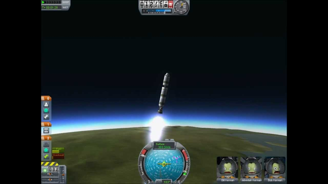Landing On The Mun Using The Smallest Rocket