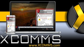 XComms Desktop Alert Software - Multi-Channel Internal Communication Software