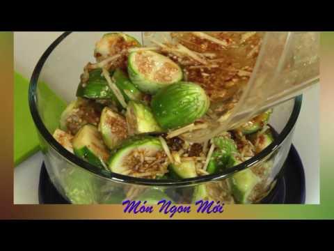 Uyen Thy's Cooking - Cà Pháo Dằm Mắm và Canh Rau Đai