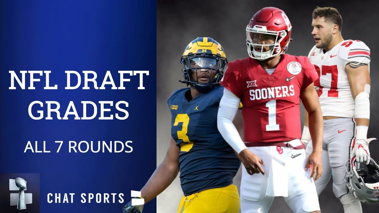 The final 2019 NFL Draft grades for all 32 teams