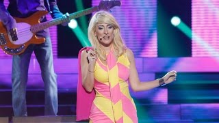 Ana Morgade imita a Blondie en