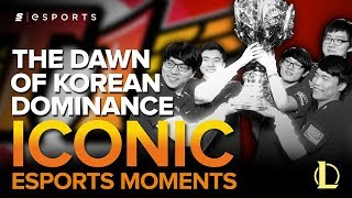 ICONIC Esports Moments: SKT T1 and The Dawn of Korean Dominance (Season 3 Worlds - LoL)